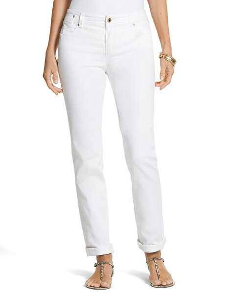 Pintuck Ankle Jeans
