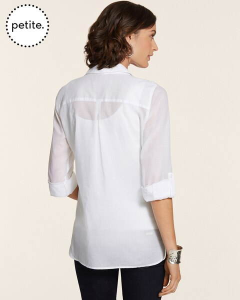 Petite Light Weight Utility Skyy Top