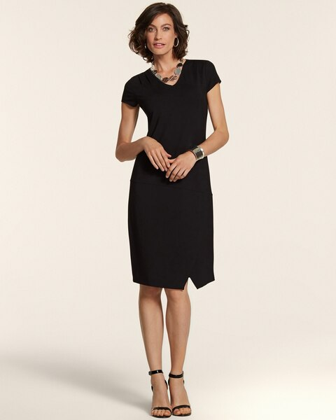 Katie Black Tee Dress