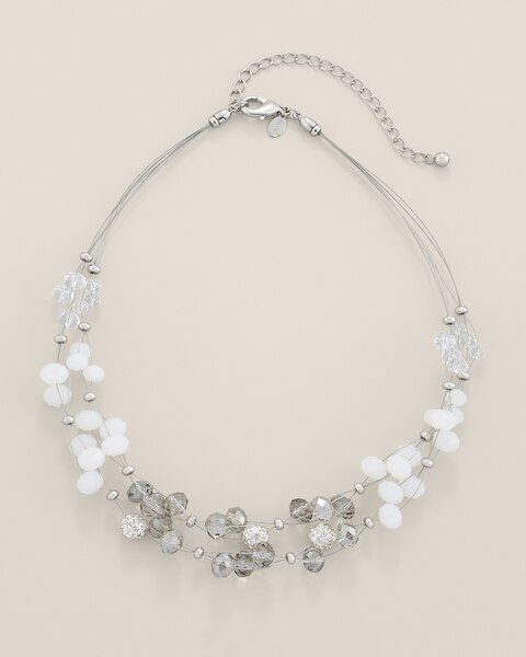 Natalia Short Illusion Necklace