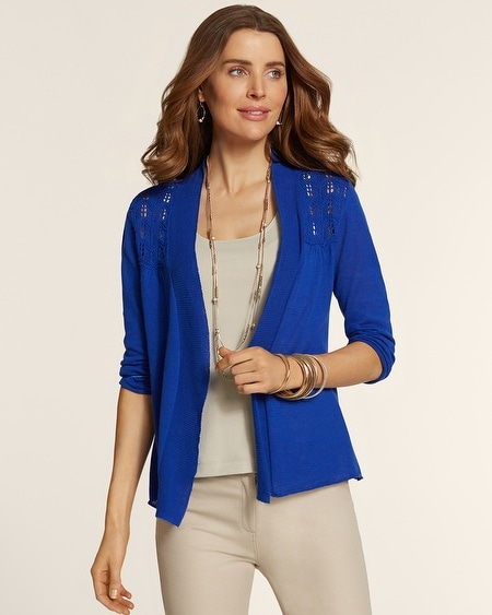Scalloped Stitch Renee Cardigan