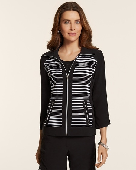 Zenergy Neema Striped Jacket