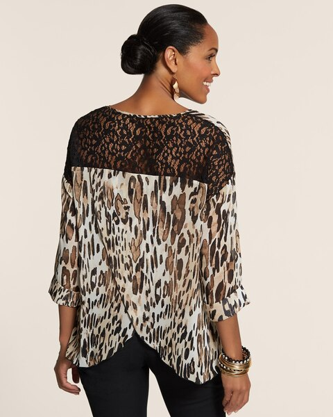 Spring Leopard Luci Top