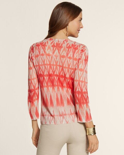 Graphic Diamond Cori Cardigan