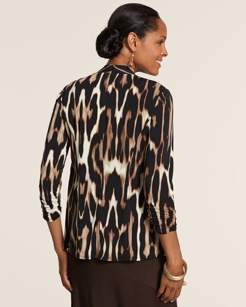 Knit Kit Leopard Jamie Jacket