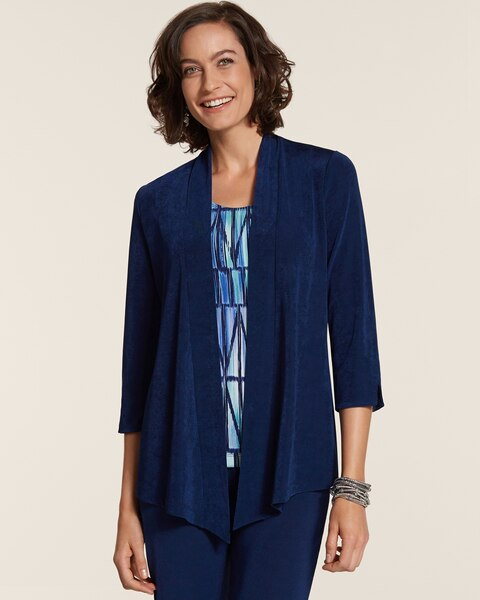 Rita Pointed Hem Jacket