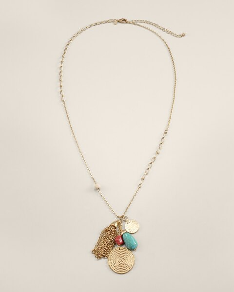 Mandi Tassel Necklace