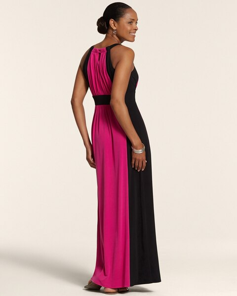 Colorblock Maxi Catherine Dress