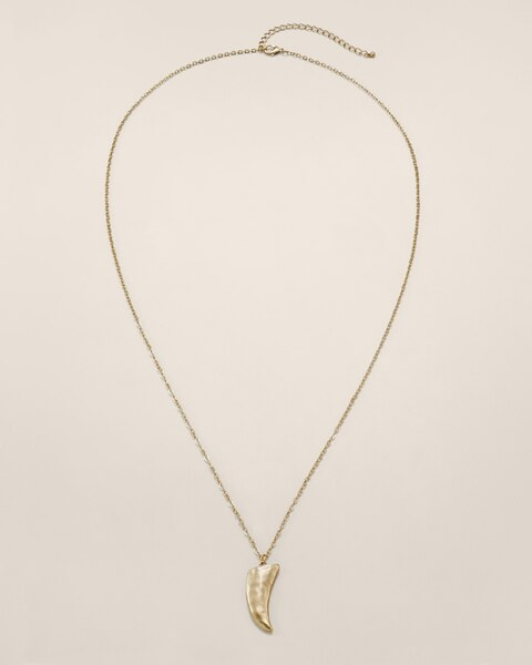 Leona Horn Necklace