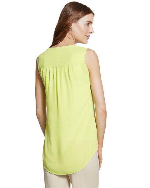 Pleated Back Melanie Sleeveless Top