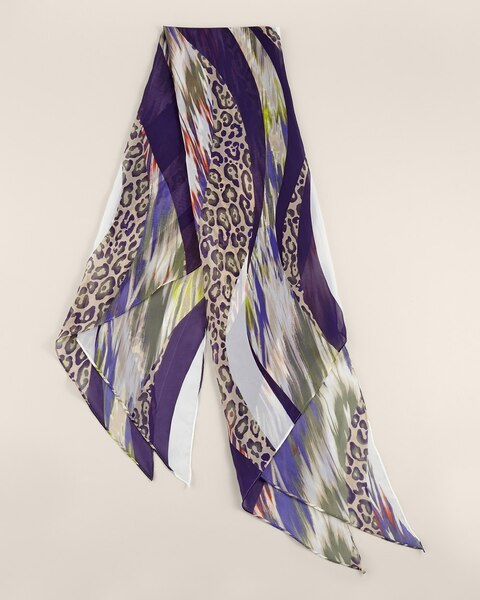 Animal Swirl Scarf