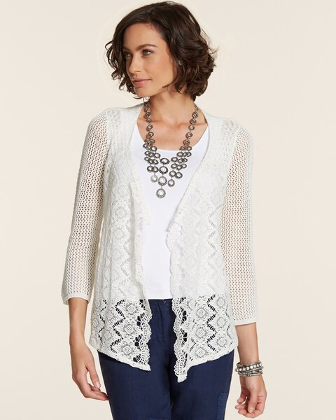 Mix Stitch Jensen Cardigan