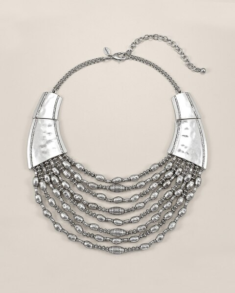 Delle Short Multi-Strand Necklace