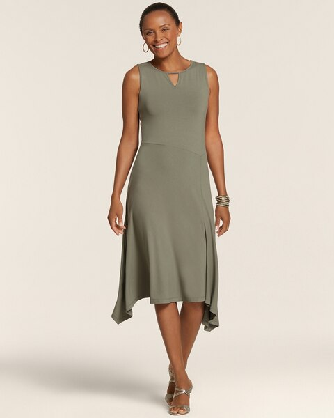 Sarah Sleeveless Jersey Dress