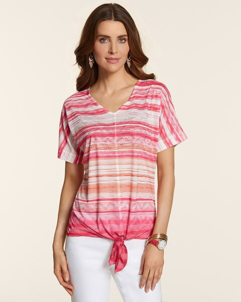 New Waves Darla Tie-Front Top