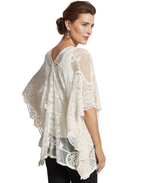 Lacey Lace Poncho