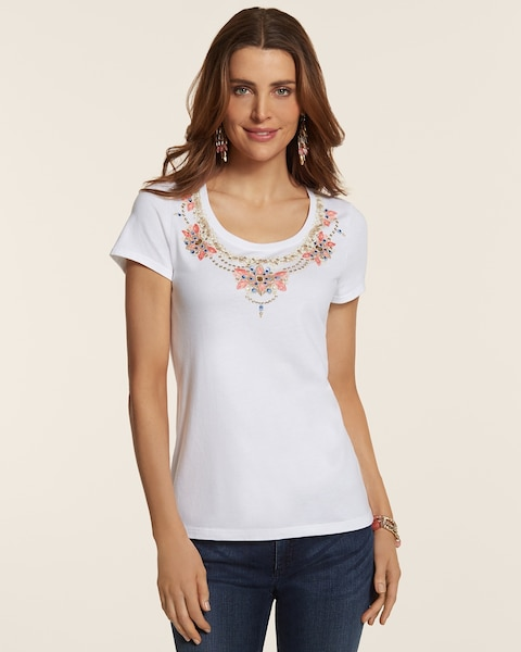 Nora Necklace Tee