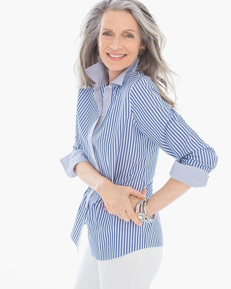 Effortless Stripe Mix Natalia Shirt