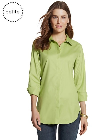 Petite Effortless Cotton Marie Shirt