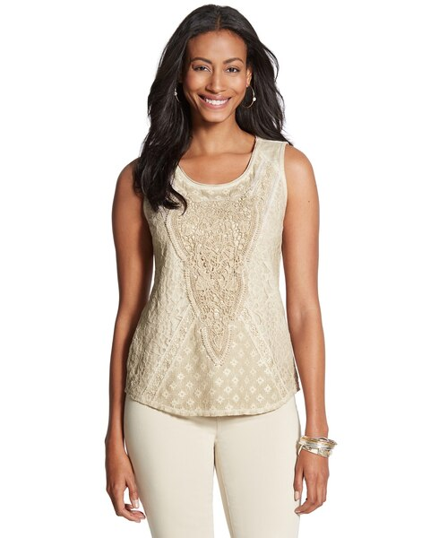 Lillian Lace Tank