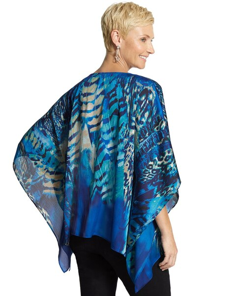 Wild Feathers Shark-Bite Poncho