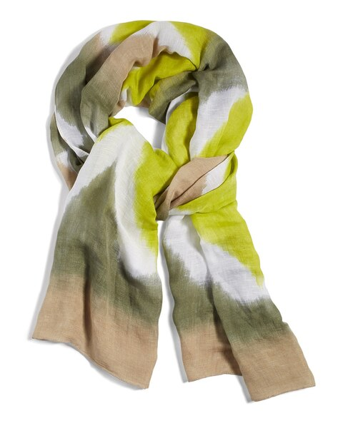 Cotto Ikat Scarf