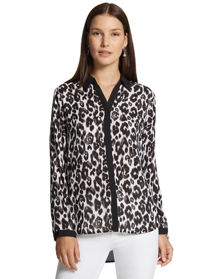 Leopard Block Brianne Top