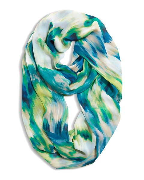 Wild Watercolor Infinity Scarf