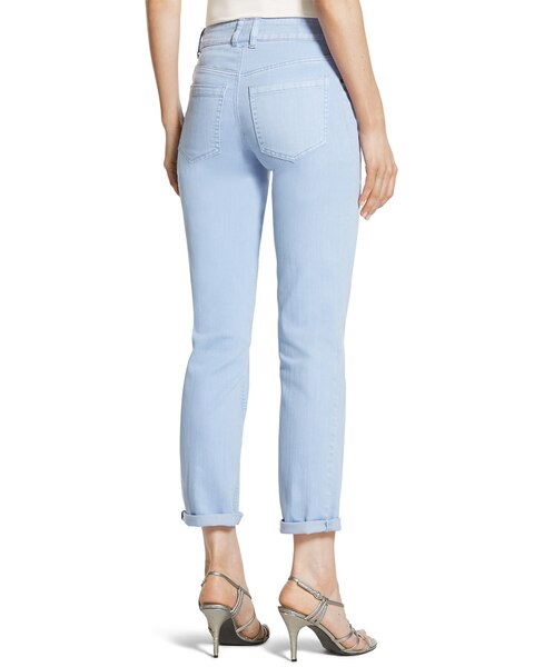 Platinum Denim Boyfriend Jeans