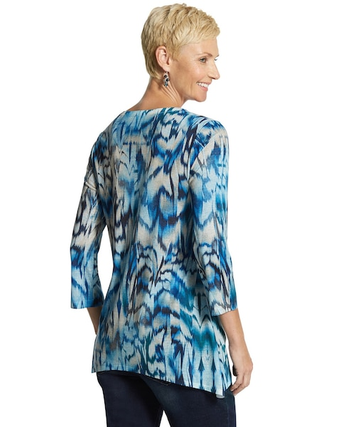 Feather Fusion Texture Tibby Top