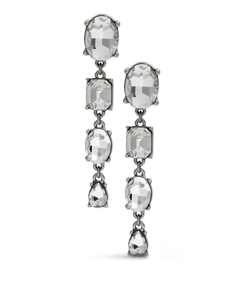 Estelle Linear Clip Earrings