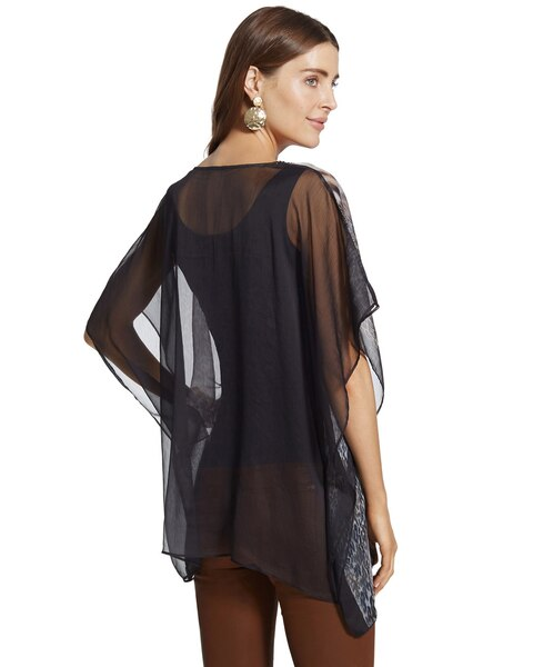 City Light Animal Poncho