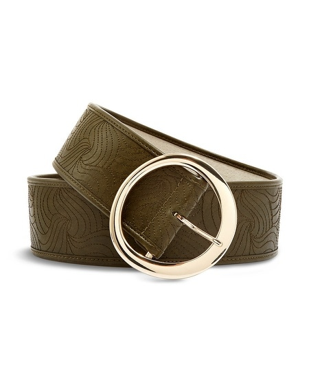Quilted Quincy Belt