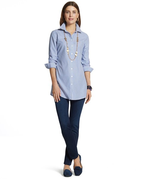 Effortless Luxe Stripe Andie Shirt