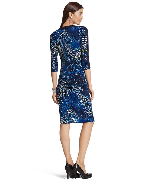 Blocked Print Betsey Dress