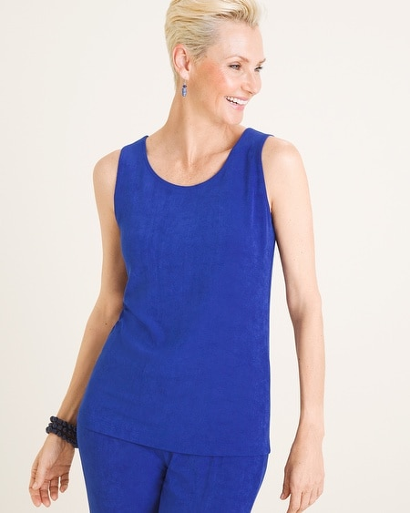 c03581b1a1dbff 1 Colors. Chico s. Travelers Classic Essential Reversible Tank
