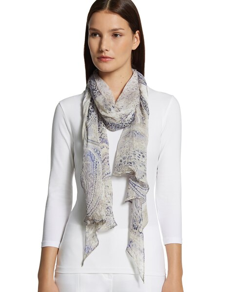 Casual Paisley Scarf