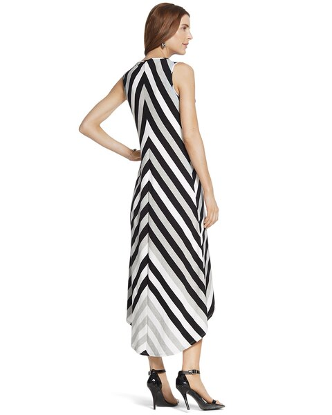 Mitered Stripe Lexi Dress