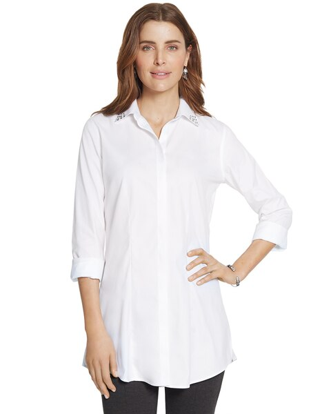Effortless Hint of Bling Lenae Shirt