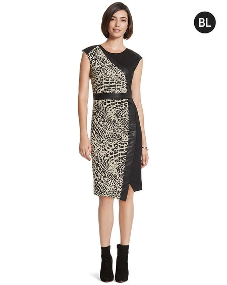 Black Label Jacquard Dress