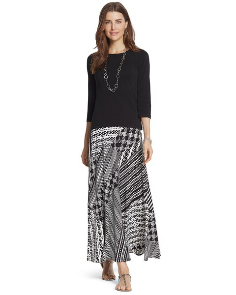 Tribal Print Sammi Maxi Skirt