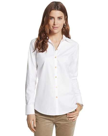 Effortless Embossed Geo Eryn Shirt