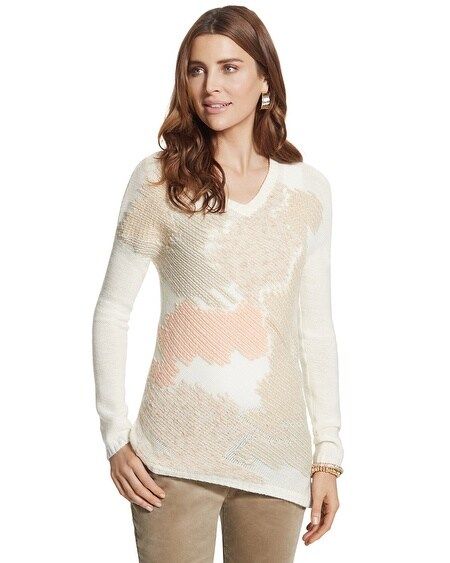 Abstract Chic Adaline Pullover