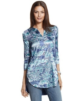 Frosted Floral Jamille Floral Top