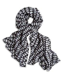 Tina Etched Dot Scarf