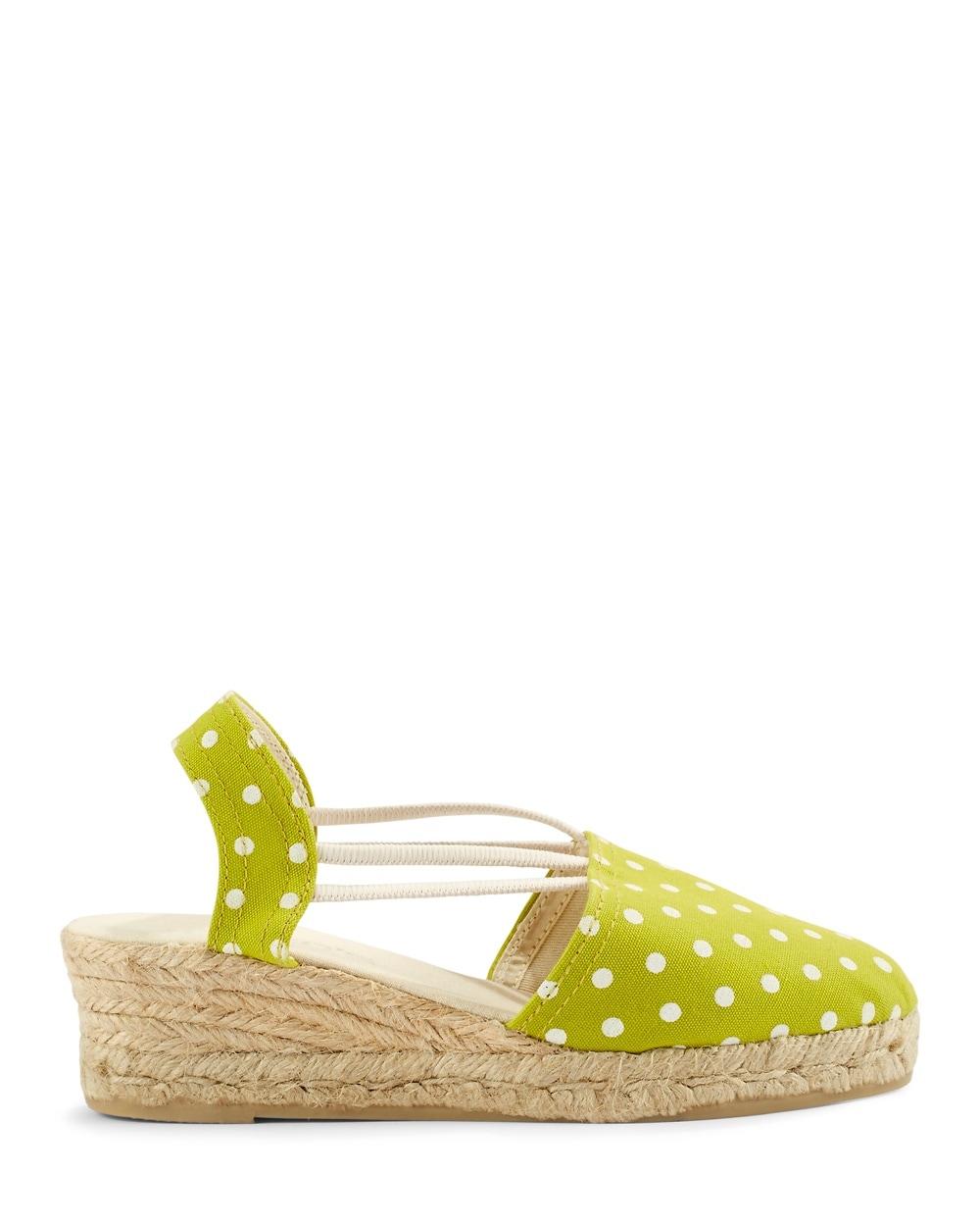 Dot Lime Green Espadrille Green Dot Lime Dot Sandals Espadrille Lime Sandals Green Espadrille 6ybf7gY