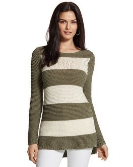 Horizontal Stripe Harley Pullover Sweater