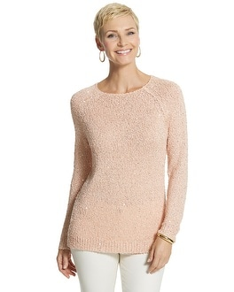 Sequin Shine Claire Pullover Sweater