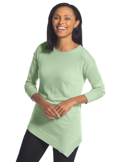 Seamed Sonya Pullover Sweater