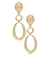 Bria Gold Link Clip Earring